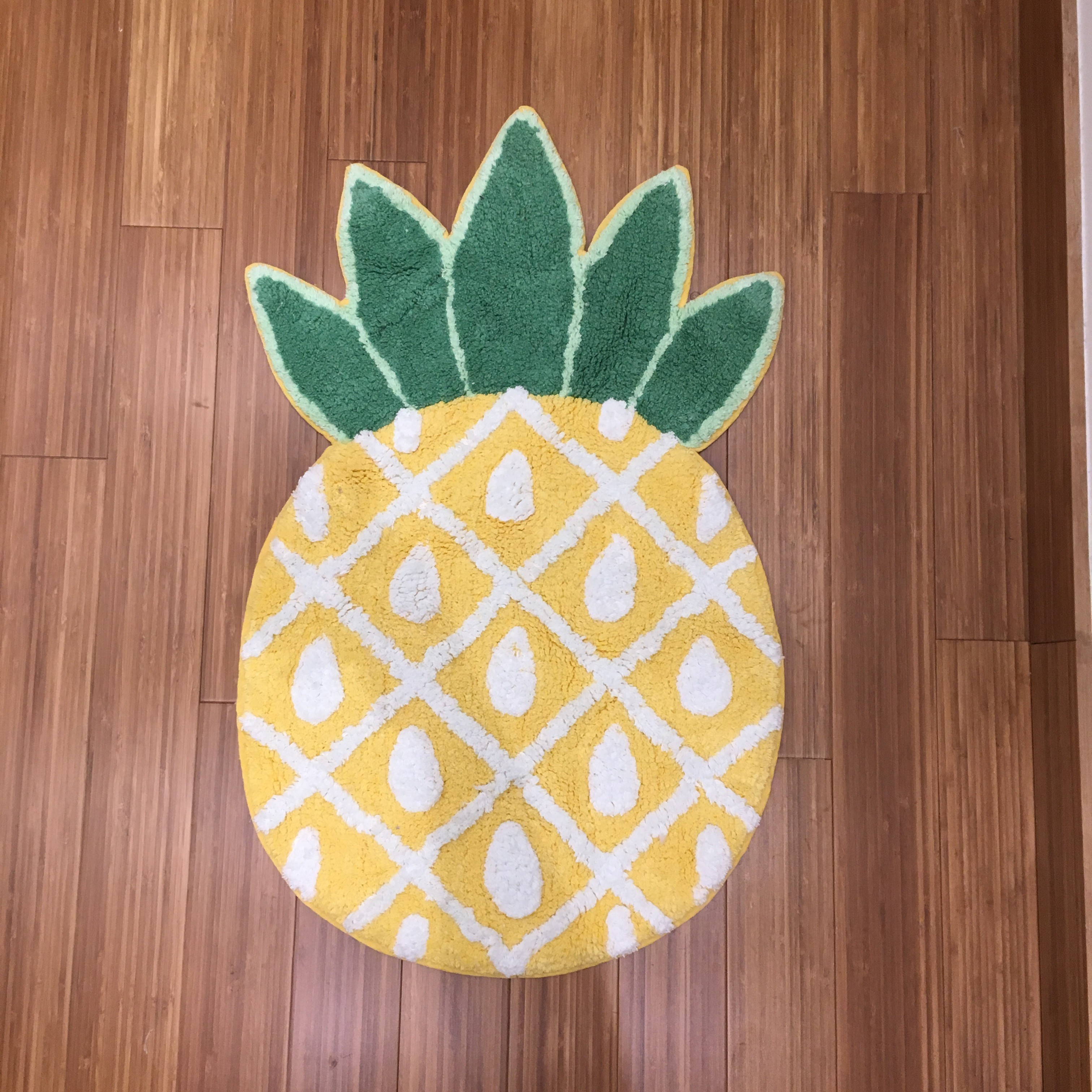 tapis salle de bain ananas - solida rio