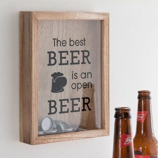 Tableau à capsule de bières