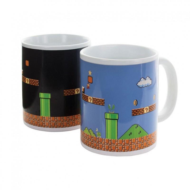 Mug Mario Bros Thermoréactif