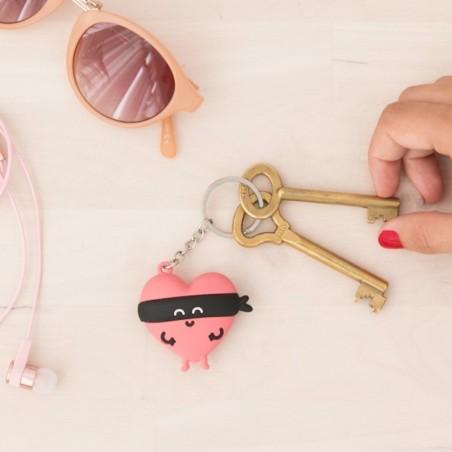 Porte-clés voleur de coeur