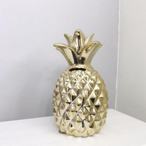 Tirelire Ananas Gold