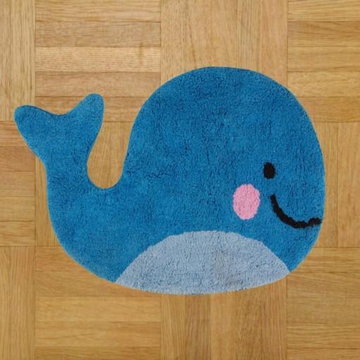 Tapis Kawaii Baleine