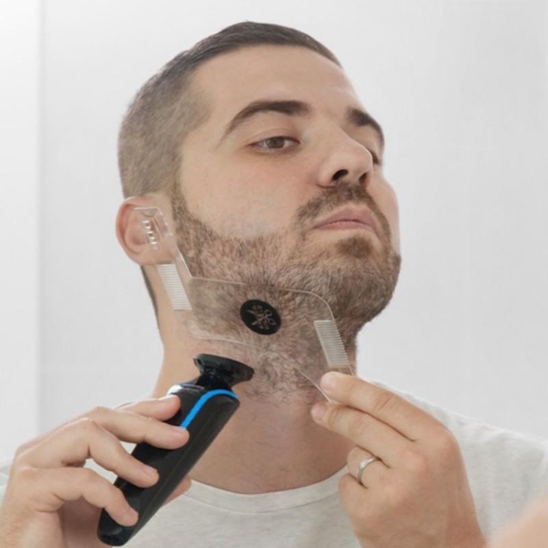 Peigne contours de barbe