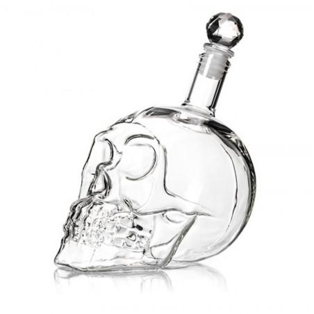Bouteille tête de crystal