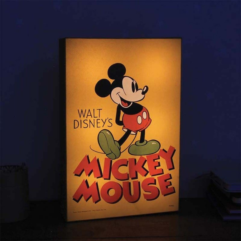 Lampe Mickey Mousse