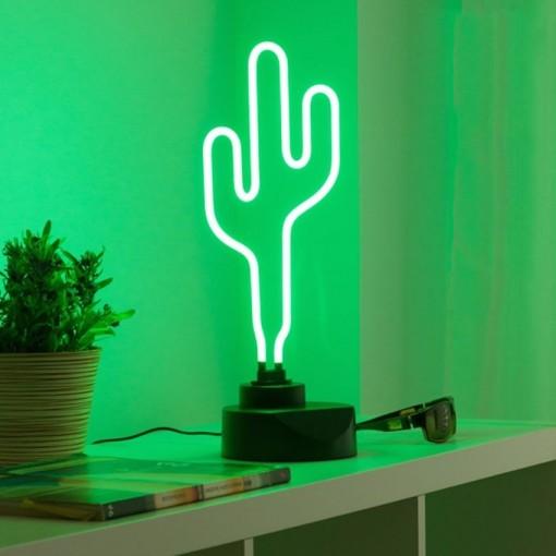 Lampe Néon Cactus 04