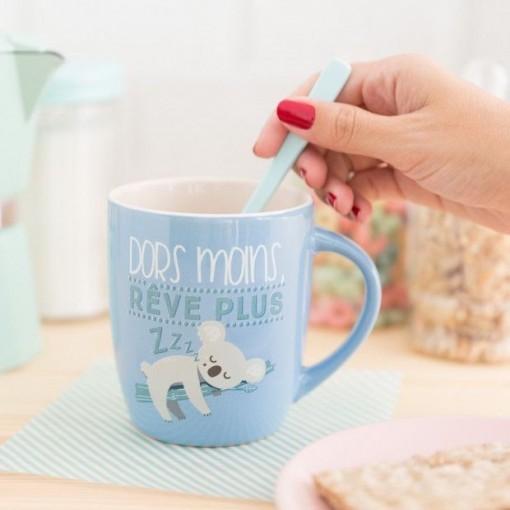 Mug koala - dors moins, rêve plus
