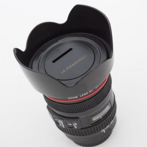 Tirelire objectif d'appareil photo