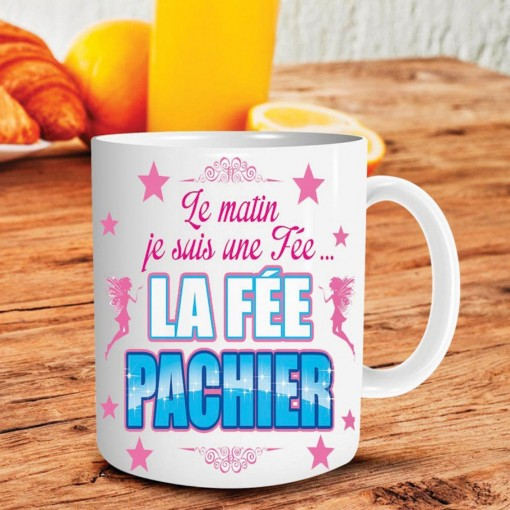 "Mug "" la fée Pachier """