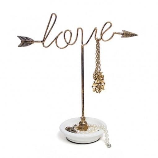 présentoir à bijoux love