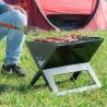 Barbecue portable au charbon