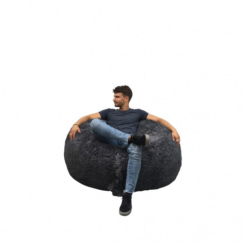 Pouf Géant 120 cm - Fourrure - Banabag