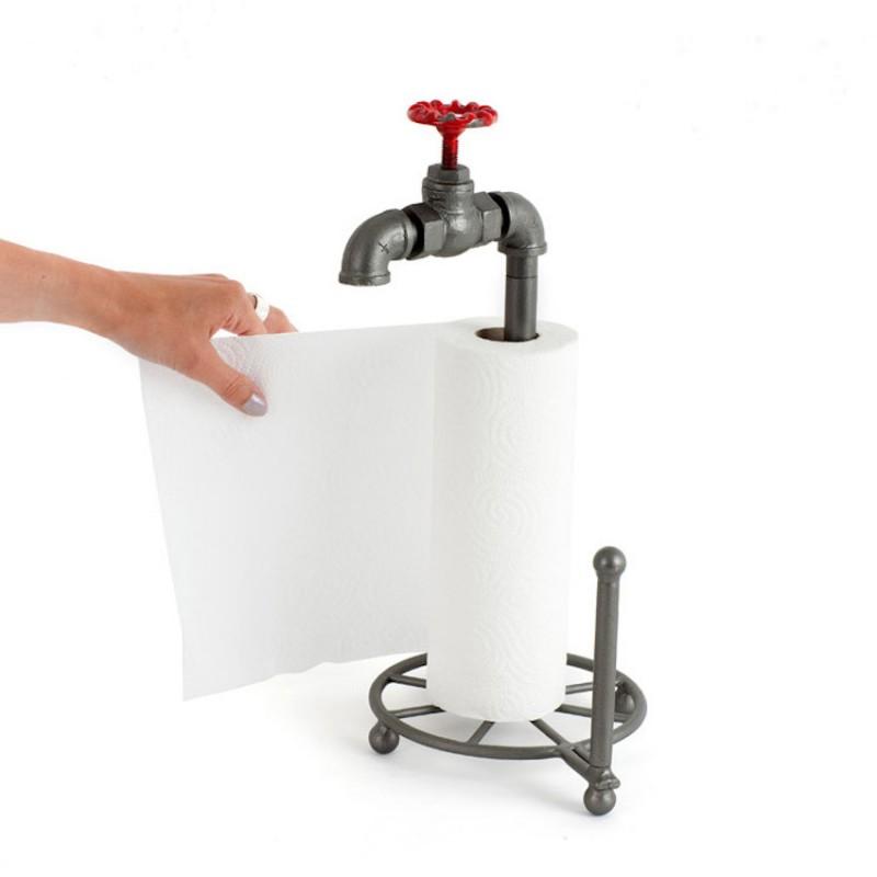 Dérouleur de papier robinet