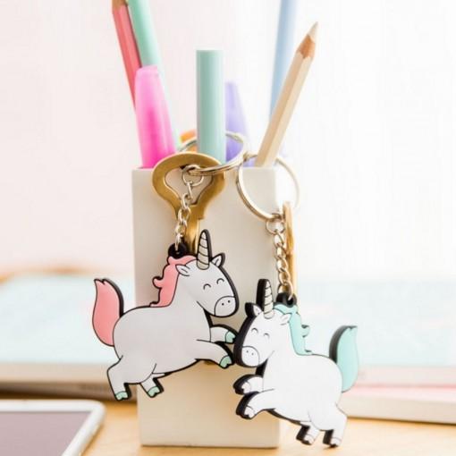 Porte clés licornes