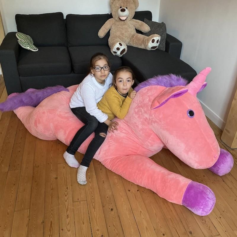 Licorne géante 220 cm