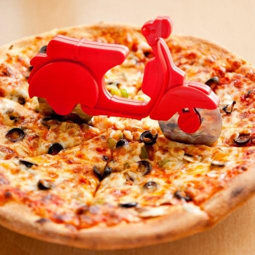 Découpe pizza scooter