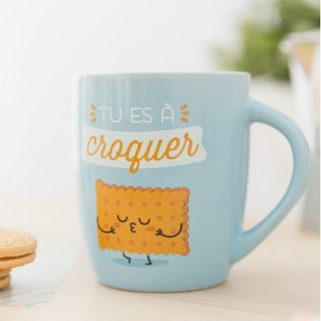 """Mug """"Tu es à croquer"""""""